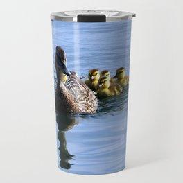 Mallard Duck Family Travel Mug