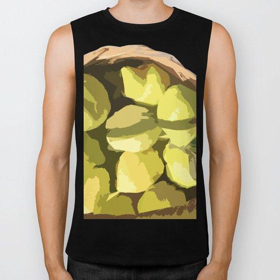 Autumn quinces Biker Tank
