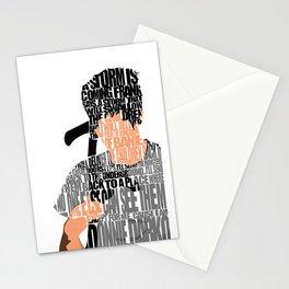 Donnie Darko Minimalist Typography Artwork Stationery Cards