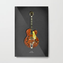 Gretch 6120 Chet Atkins Guitar Metal Print