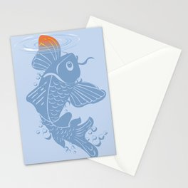 Testing the Waters Stationery Cards