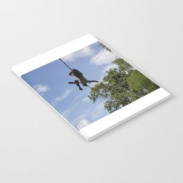 Girl on Swing Notebook