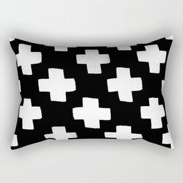 Criss Cross Pattern Rectangular Pillow