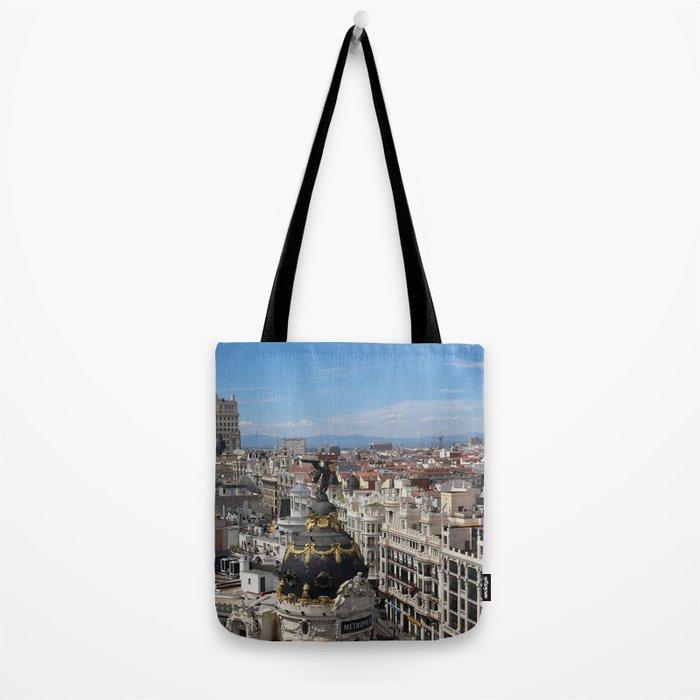 Madrid Espana Tote Bag