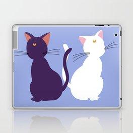 Luna & Artemis (Minimalist) - Blue Laptop & iPad Skin