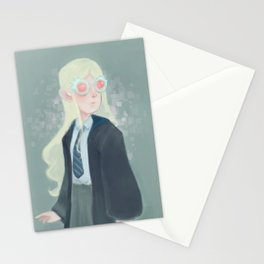 Luna Lovegood and her Spectrespecs Stationery Cards