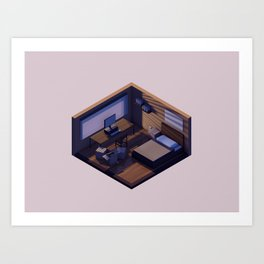 Student Room Art Print