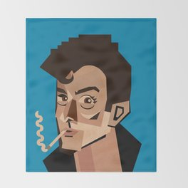 Study of Alex T Throw Blanket