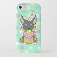 kiki iPhone & iPod Cases featuring Kiki Kawaii by attkcherry