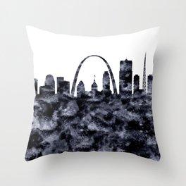 Saint Louis Skyline Missouri Throw Pillow