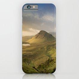 Sunrise Over the Quiraing III iPhone Case