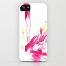 Once a woman has forgiven a man iPhone Case