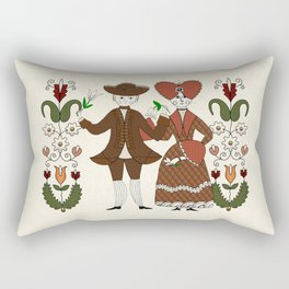 Harvest Dance Rectangular Pillow