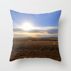Wyoming Sunset 2 Throw Pillow