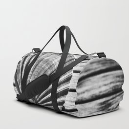 Scallop Shell and Timber Duffle Bag