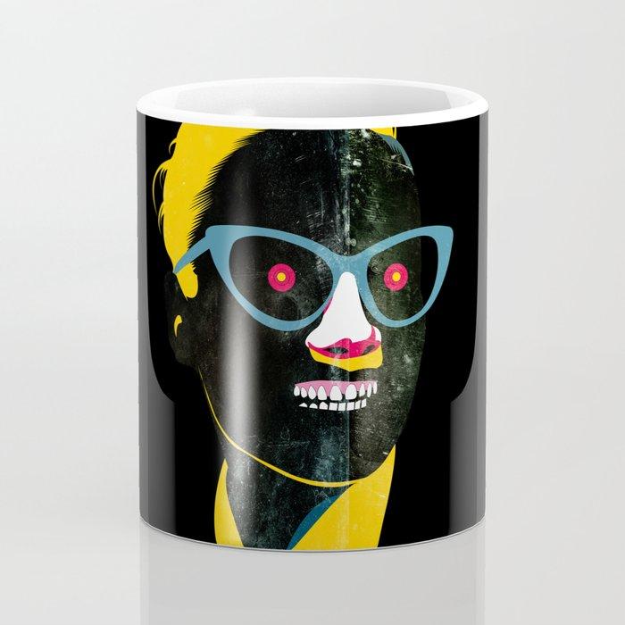 Smile in black Coffee Mug
