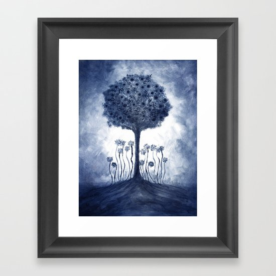 Energy from the tree Framed Art Print