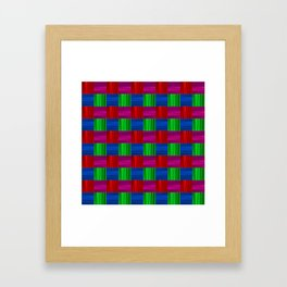 Bright packaging podrarochny drawing. Texture for holiday wrapping paper. Framed Art Print