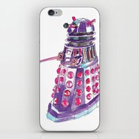 dalek iPhone & iPod Skins featuring Dalek by BlueAcorn