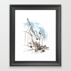 Peace Maker Framed Art Print