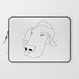 Great Dane Sketch Laptop Sleeve