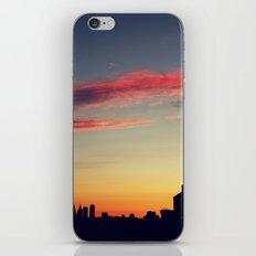 summer skylines iPhone & iPod Skin