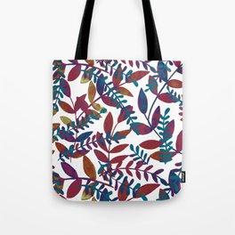 Watercolor branches - multicolor Tote Bag