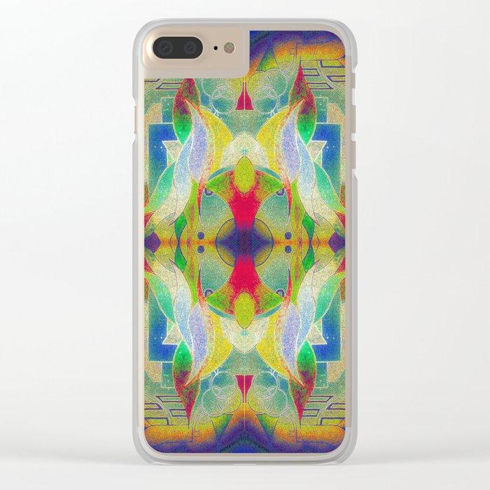 Mandala H I Clear iPhone Case