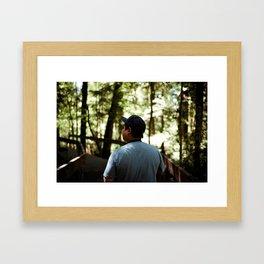 Rückenfigur #1 Framed Art Print