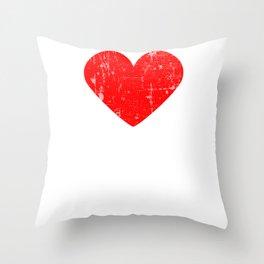 Heart The Climb | Love The Climb Throw Pillow