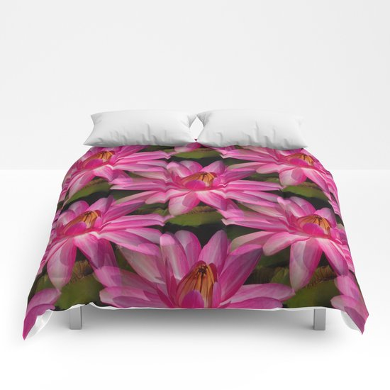 Lilies and more Lilies... Comforters