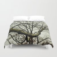 moss Duvet Covers featuring Moss by Riley Gallagher