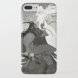 Krampus and Perchta iPhone Case