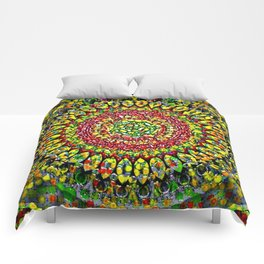 Transition Mandala 3 Comforters