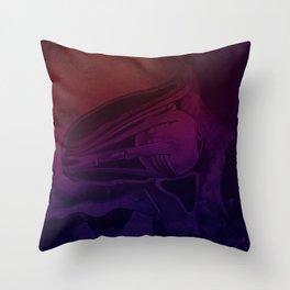 Hot Head Cold Heart Throw Pillow