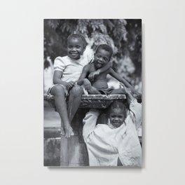 Zanzibar Fountain Metal Print