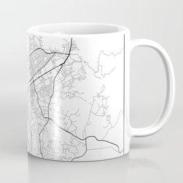 Minimal City Maps - Map Of Escondido, California, United States Coffee Mug