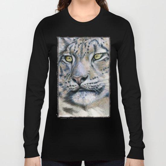 Snow Leopard A091 Long Sleeve T-shirt