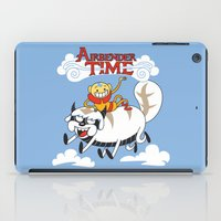 airbender iPad Cases featuring Airbender Time by Kari Fry