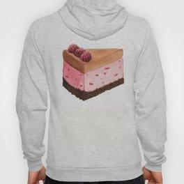 Raspberry Ice Cream Cake Slice Hoody