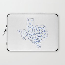 Stars at Night in blue Laptop Sleeve