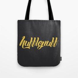 Hufflepuff Graffiti Tote Bag