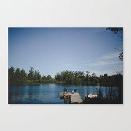 Dock 3 Canvas Print