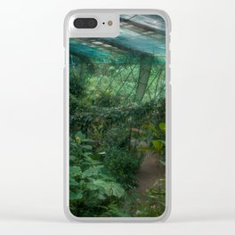 There Will Come Soft Rains - Costa Rica Butterfly Conservatory Clear iPhone Case