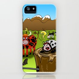 capricious nature iPhone Case