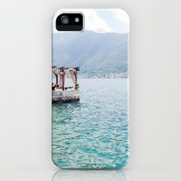 A Restaurant on the Bay iPhone Case