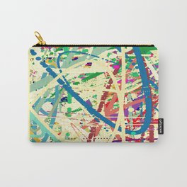 An Homage to Pollock Carry-All Pouch