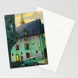 Nighthawk Stationery Cards