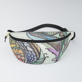 Two Feathers Fanny Pack