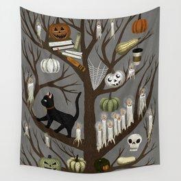 halloween tree Wall Tapestry